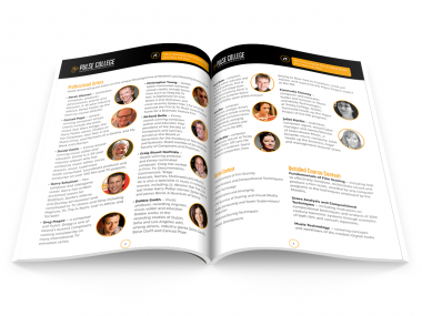 Pulse prospectus design